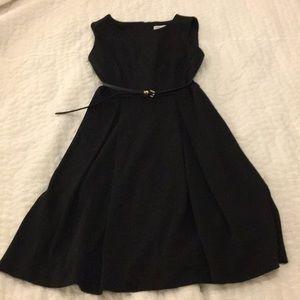 Calvin Klein A-line Black Dress